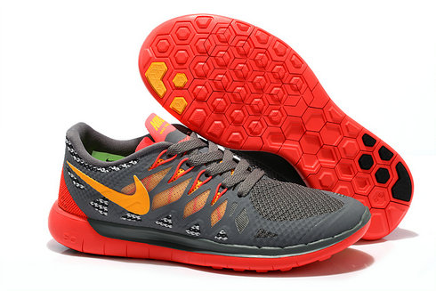 Cheap Nike Free 5.0 2014 Womens Yellow Grey Red Black On VaporMaxRunning