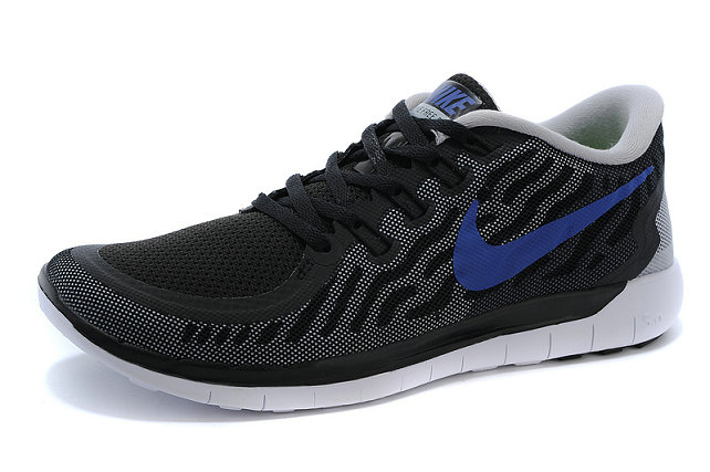 Cheap Nike Free 5.0 2015 Black Blue White On VaporMaxRunning