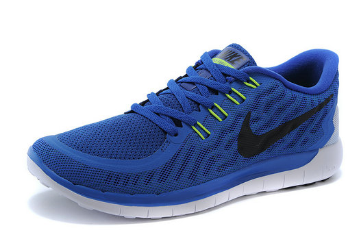 Cheap Nike Free 5.0 2015 Blue Black White On VaporMaxRunning