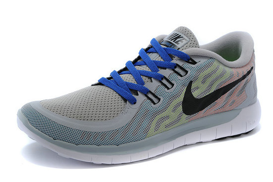 Cheap Nike Free 5.0 2015 Grey Blue Black White On VaporMaxRunning