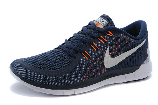 Cheap Nike Free 5.0 2015 Orange Red White Navy Blue On VaporMaxRunning