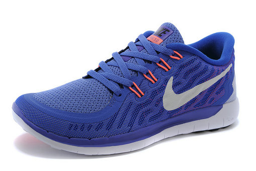 Cheap Nike Free 5.0 2015 Womens Blue White Orange On VaporMaxRunning