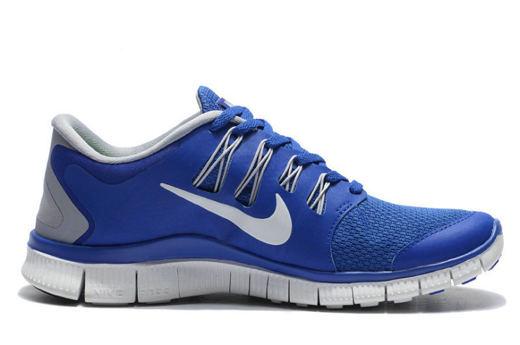 Cheap Nike Free 5.0 V2 Blue White Grey On VaporMaxRunning