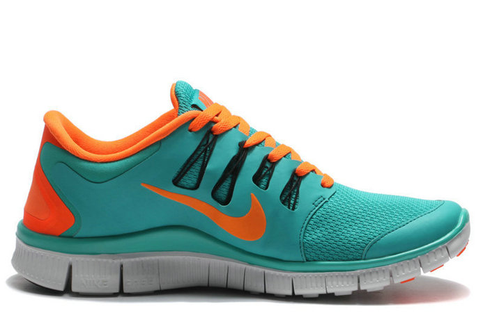Cheap Nike Free 5.0 V2 Dark Green Orange On VaporMaxRunning