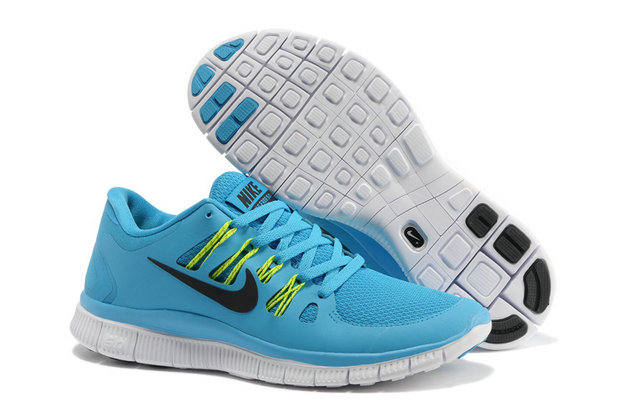 Cheap Nike Free 5.0 V2 Powder Blue Green Black On VaporMaxRunning