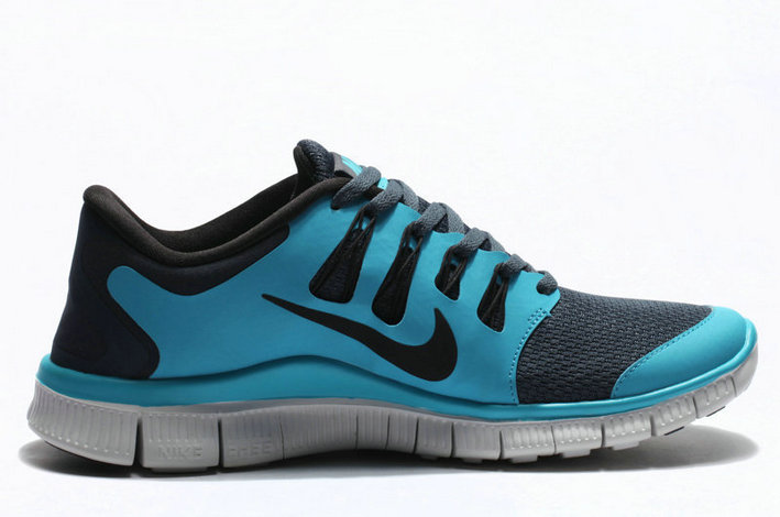 Cheap Nike Free 5.0 V2 Sea Blue Grey On VaporMaxRunning