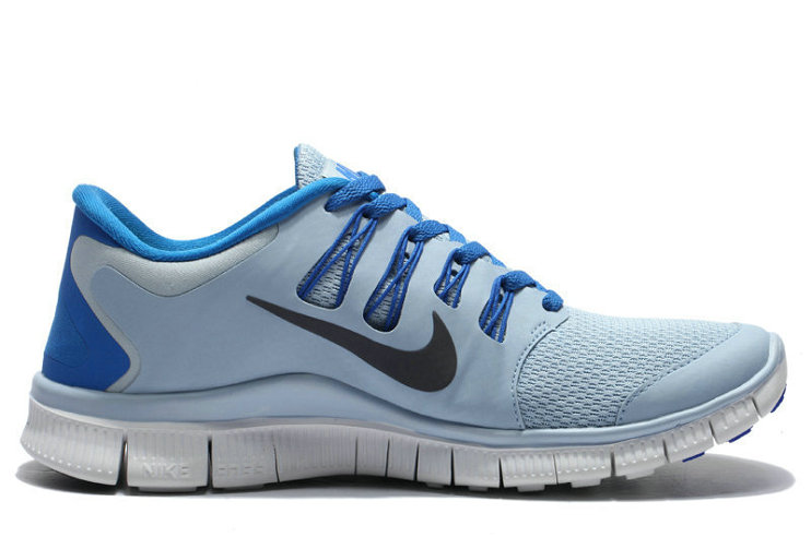 Cheap Nike Free 5.0 V2 White Grey Blue On VaporMaxRunning