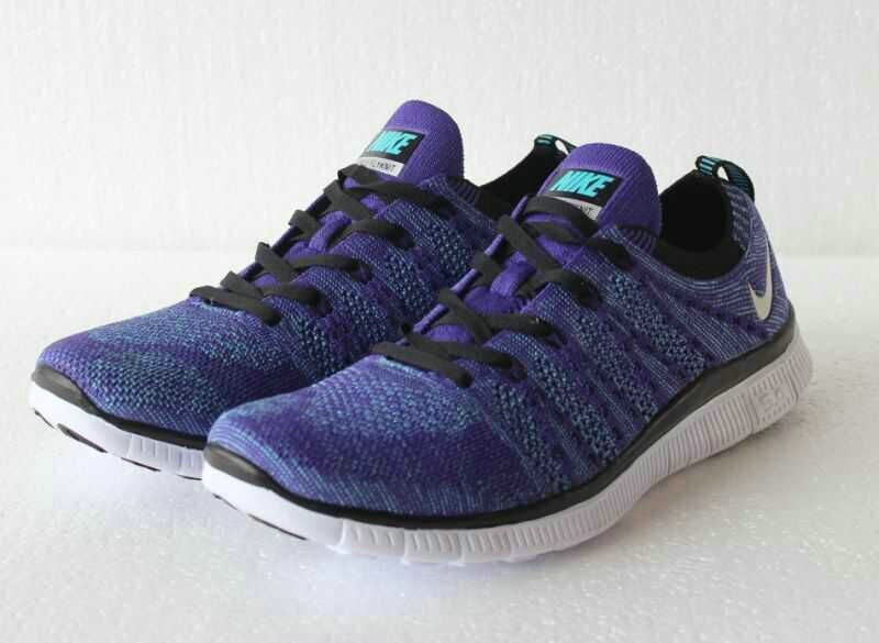 Cheap Nike Free Flyknit 5.0 Running Mens Shoes Royal Blue White Black On VaporMaxRunning