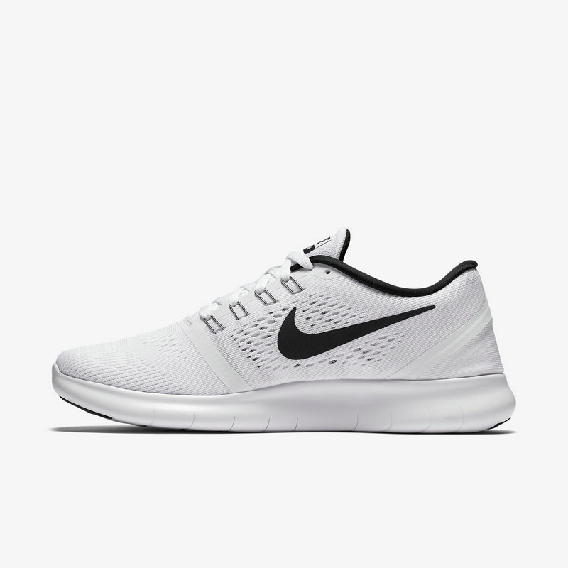 Cheap Nike Free RN Running White Black On VaporMaxRunning