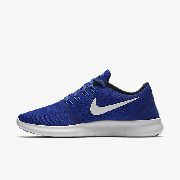 Cheap Nike Free RN Running White Royal Blue On VaporMaxRunning