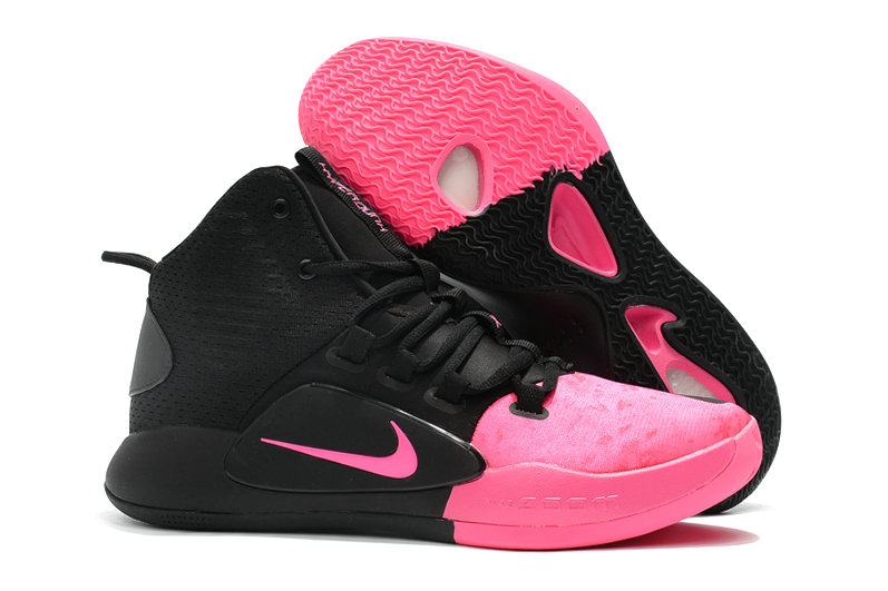 Cheap Nike Hyperdunk X EP Basketball Shoes Black Pink