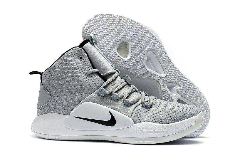 Cheap Nike Hyperdunk X EP Basketball Shoes Grey Black White