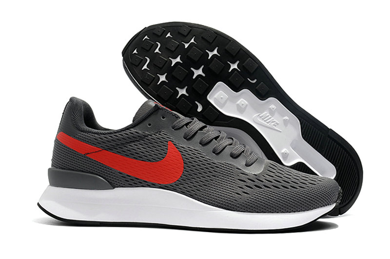 Cheap Nike Internationalist LT 17 Mens Grey Red Black White On VaporMaxRunning