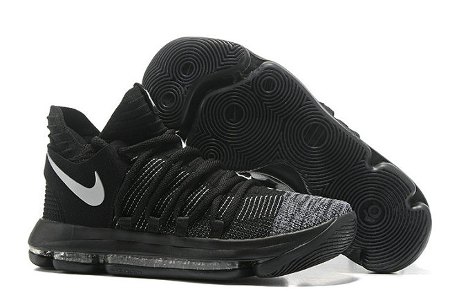 Cheap Nike Kevin Durant X PS Elite Black Grey White On VaporMaxRunning