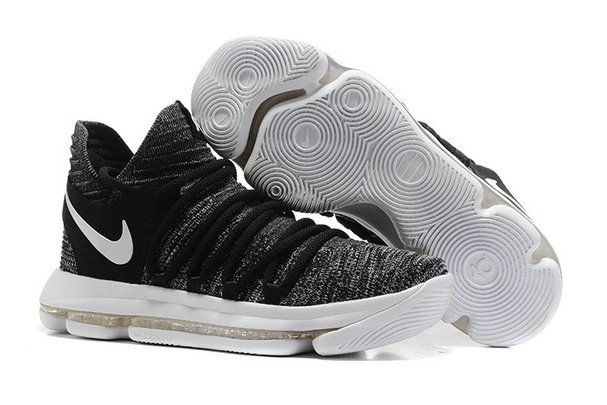 Cheap Nike Kevin Durant X PS Elite Grey Black White On VaporMaxRunning