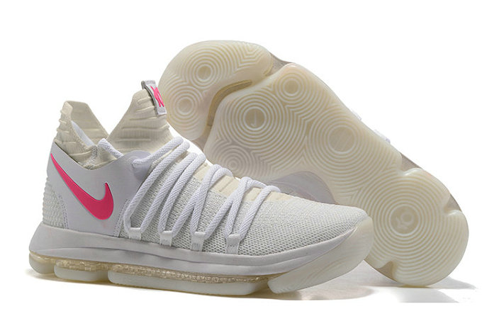 Cheap Nike Kevin Durant X PS Elite Pink White Cream On VaporMaxRunning