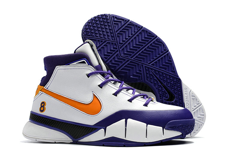 Cheap Nike Kobe 1 Protro Mens Orange White Purple On VaporMaxRunning