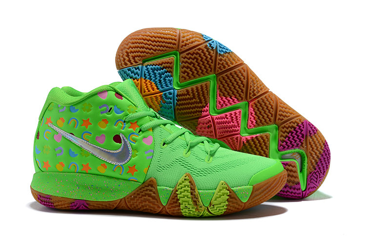 Cheap Nike Kyrie 4 Green Lucky Charms For Sale On VaporMaxRunning