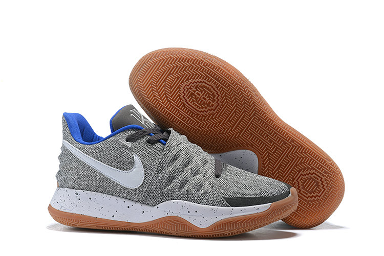 Cheap Nike Kyrie 4 Low Uncle Drew Atmosphere Grey White AO8979-005 On VaporMaxRunning