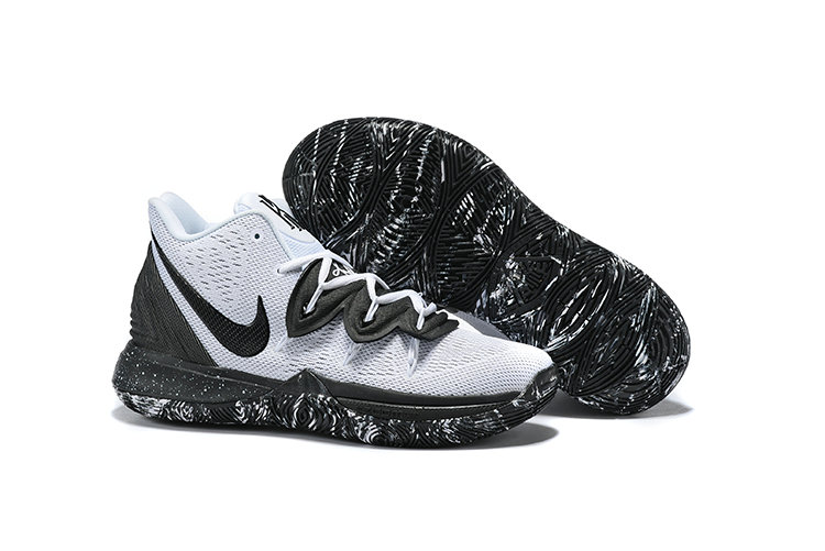 Cheap Nike Kyrie 5 Cookies And Cream White Black AO2918-100 On VaporMaxRunning