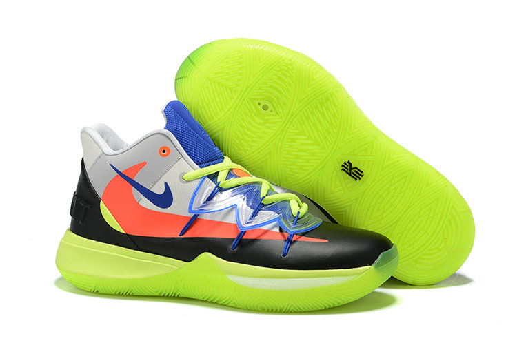 Cheap Nike Kyrie 5 Irvings VI All Star Black Orange Green White Blue On VaporMaxRunning