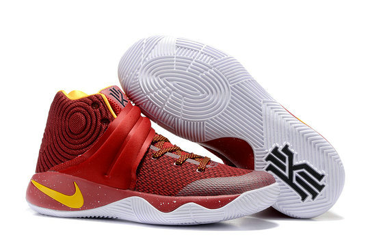 Cheap Nike Kyrie Irving 2 (II)  Red Yellow White On VaporMaxRunning