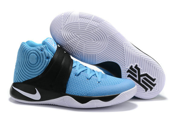 Cheap Nike Kyrie Irving 2 (II) Black Light Blue White On VaporMaxRunning