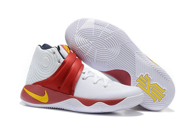 Cheap Nike Kyrie Irving 2 (II) White Red Yellow On VaporMaxRunning