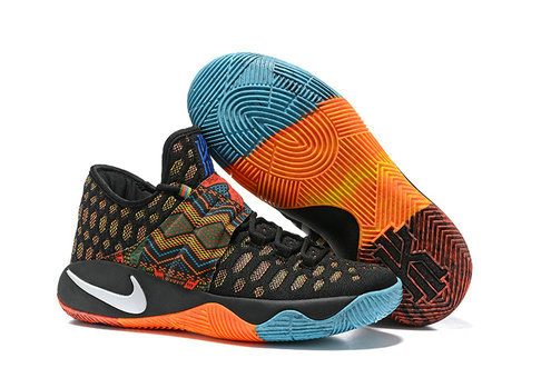 Cheap Nike Kyrie Irving 2.5 Orange Black Blue White On VaporMaxRunning