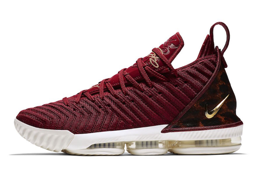 Cheap Nike LeBron 16 King AO2588-601 Team Red Metallic Gold-Multi Color On VaporMaxRunning