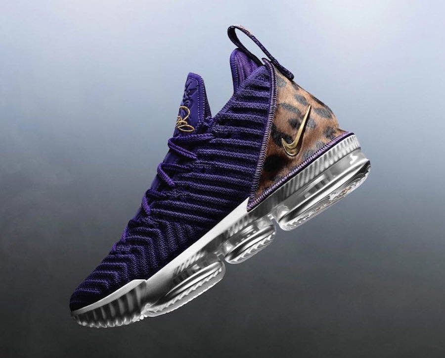 Cheap Nike LeBron 16 King Court Purple AO2588-500 Court Purple Metallic Gold On VaporMaxRunning