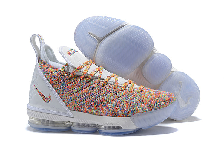 Cheap Nike LeBron 16 Multicolor Against Spurs