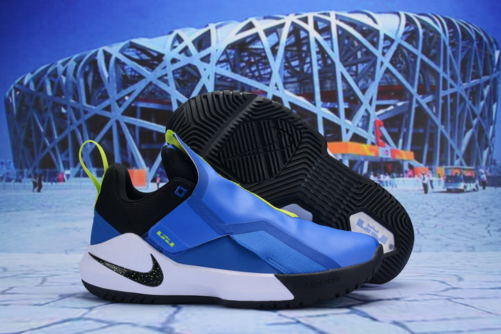 Cheap Nike LeBron Ambassador 11 Blue White Black Green On VaporMaxRunning