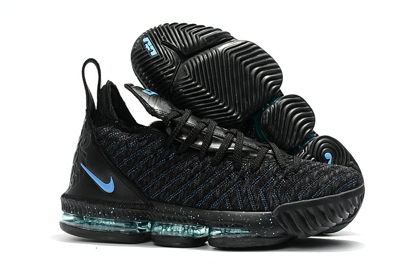 Cheap Nike Lebron 16 Black Sky Green On VaporMaxRunning