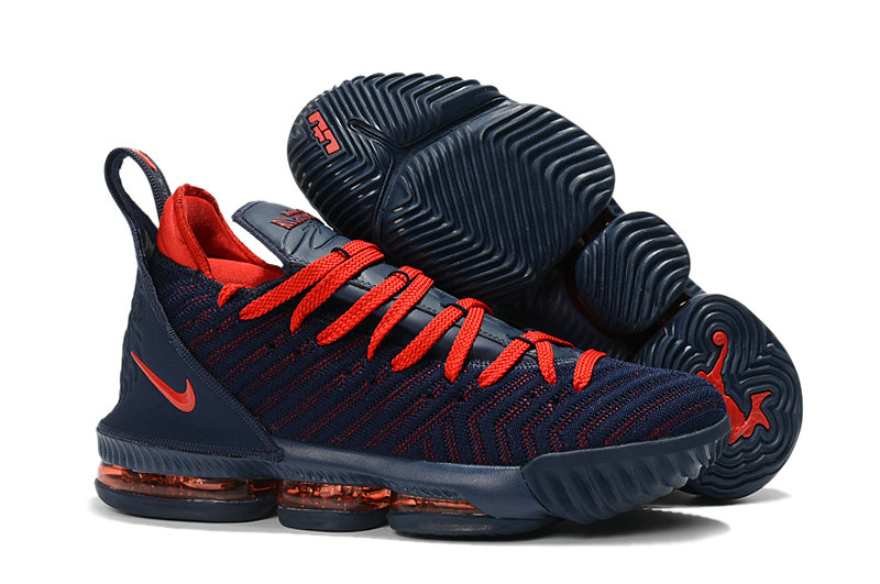 Cheap Nike Lebron 16 Red Deep Blue On VaporMaxRunning