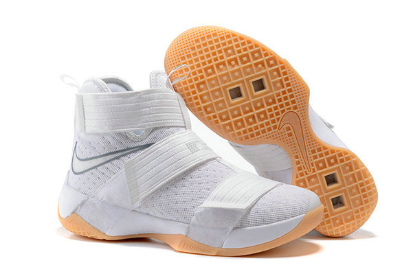 Cheap Nike Lebr On Soldier 10 X White GoldOn VaporMaxRunning