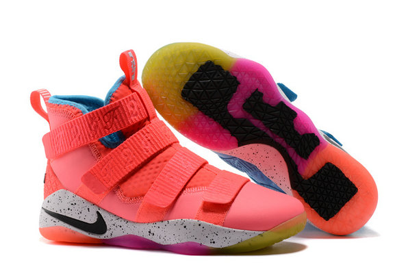 Cheap Nike Lebron Soldier 11 What The Blue Pink Purple Black White On VaporMaxRunning