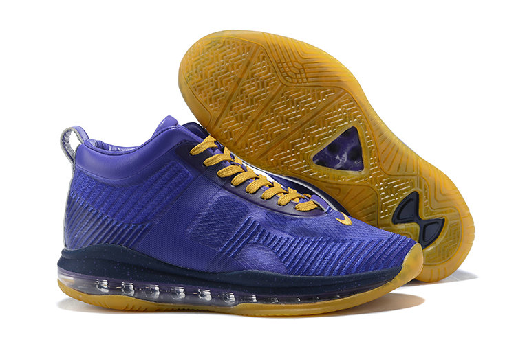 Cheap Nike Lebron X JE ICON QS Purple Gold On VaporMaxRunning