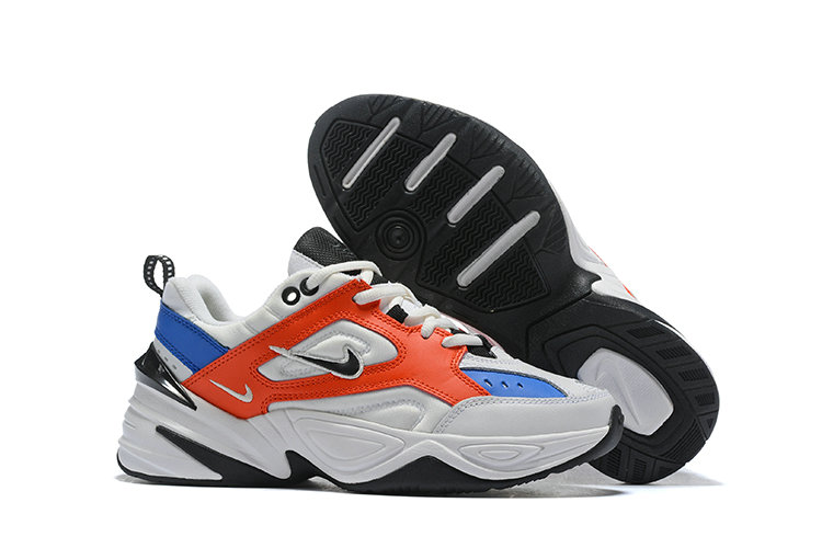 Cheap Nike M2K TEKNO Red Blue White Black On VaporMaxRunning