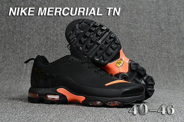 Cheap Nike Mercurial Air Max Plus TN Black Orange