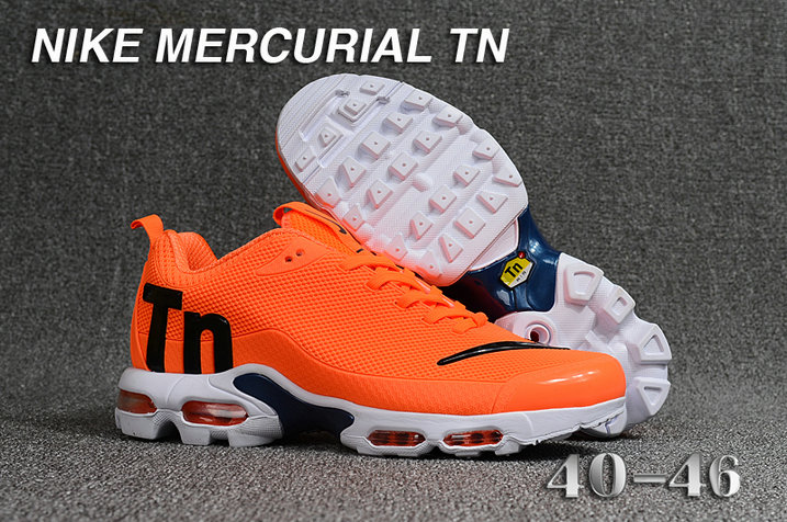Cheap Nike Mercurial Air Max Plus TN Orange Black White