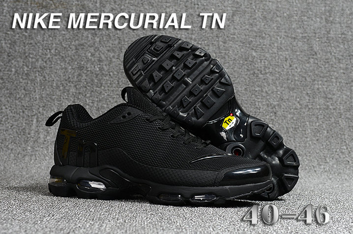 Cheap Nike Mercurial Air Max Plus TN Triple Black