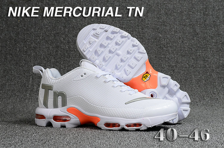 Cheap Nike Mercurial Air Max Plus TN White Orange