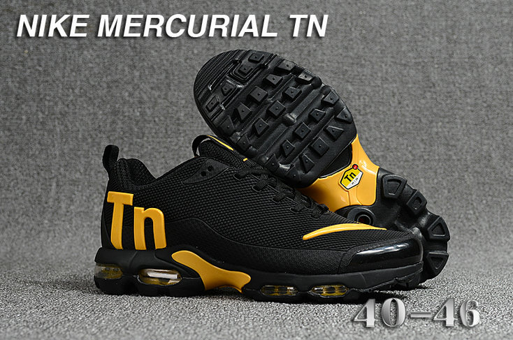 Cheap Nike Mercurial Air Max Plus TN Yellow Black