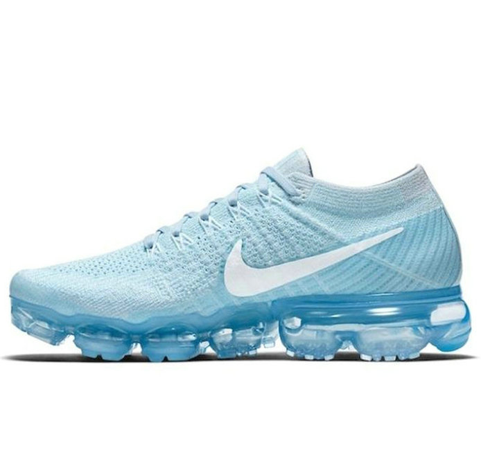 Cheap Nike Nike Air VaporMax Flyknit Baby Blue Sportwear On VaporMaxRunning