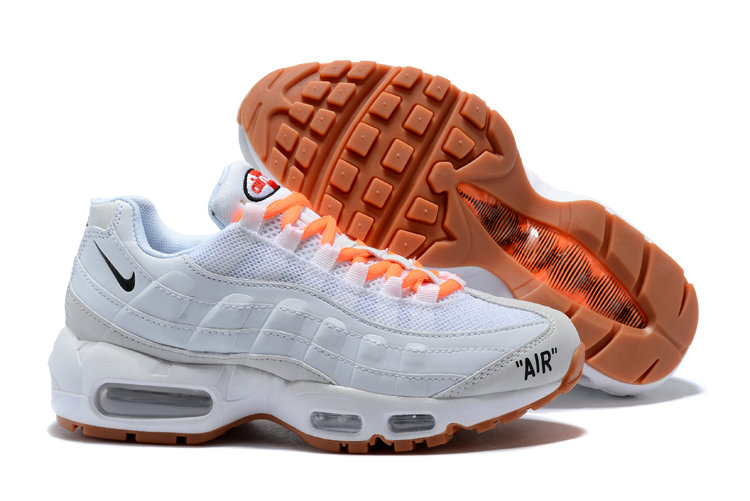 New 2018 Nike Nike OFF-WHITE Cheap x The 10 Air Max Plus 95 Mens Womens Ultra White Orange On VaporMaxRunning