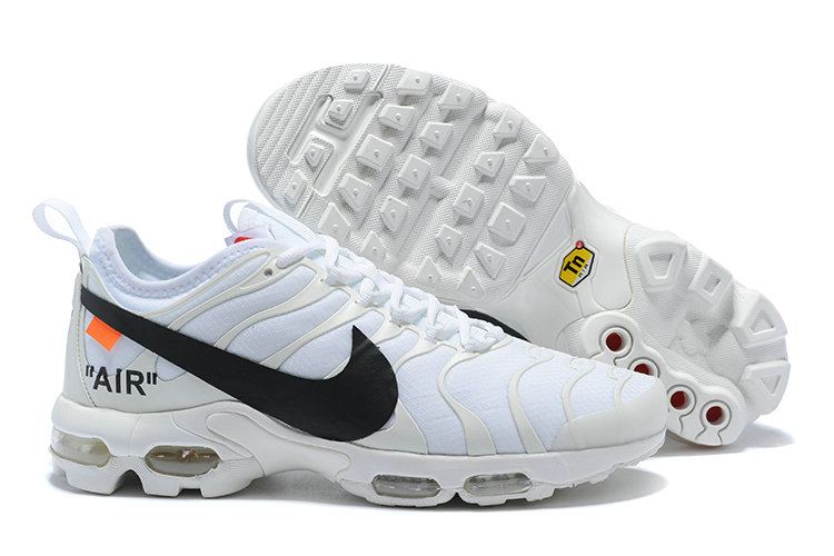New 2018 Nike Nike OFF-WHITE Cheap x The 10 Air Max Plus TN Ultra White On VaporMaxRunning