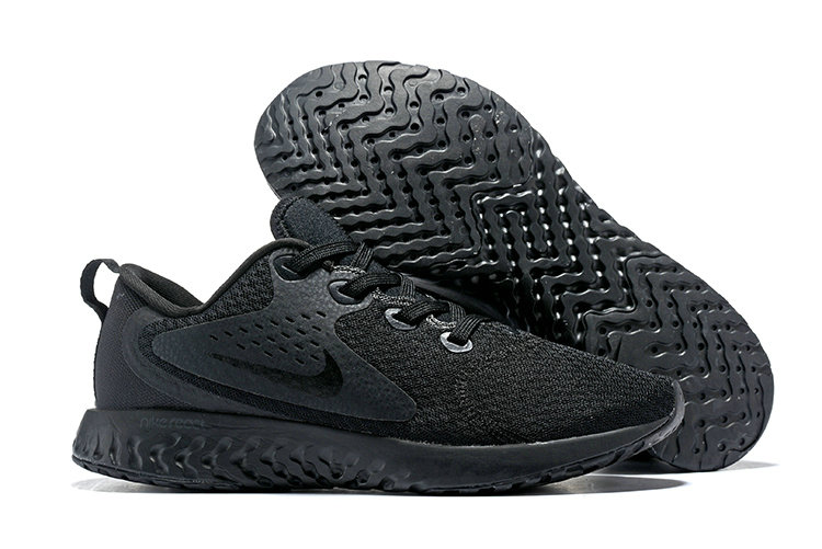 Cheap Nike Odyssey React Triple Black On VaporMaxRunning