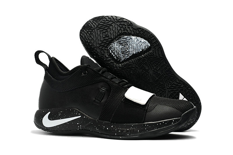 Cheap Nike PG 2.5 Black White On VaporMaxRunning