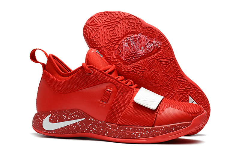 Cheap Nike PG 2.5 China Red White On VaporMaxRunning